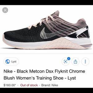 Nike Shoes - Nike Metcon DSX Flyknit Chrome Blush Training Shoe